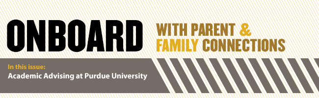 OnBoard with Parent & Family Connections - Academic Advising