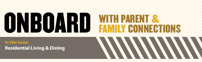 OnBoard with Parent & Family Connections - Residential Living & Dining