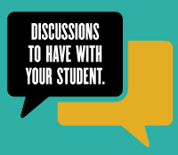 Discussions to have with your student